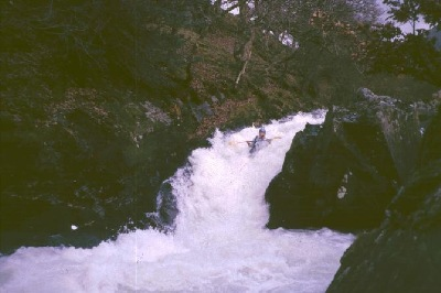First descent of part of the Ogwen River?